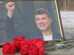 Boris Nemtsov remembered in Russia