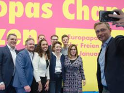 FDP meets for an electoral convention ahead of May