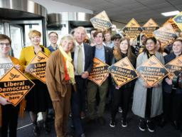 LibDems pledge to lead the resistance to illiberal forces