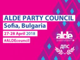 Register for ALDE Party Council 2018!