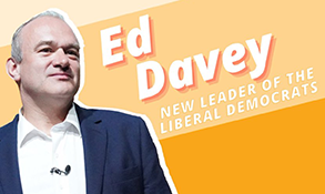 Sir Ed Davey elected new UK Liberal Democrat leader