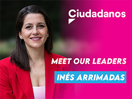 Meet our Leaders: Inés Arrimadas (Ciudadanos, Spain)
