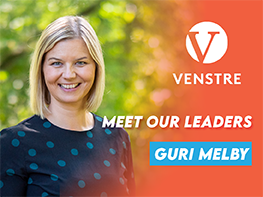 Meet our Leaders: Guri Melby (Venstre, Norway)