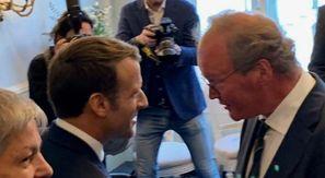 Van Baalen supports Macron in defending Laïcité