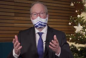 Season's Greetings from ALDE President Hans van Baalen