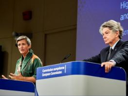 Vestager and Breton launch landmark initiatives