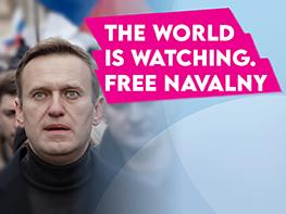 Liberals condemn the detention of Alexei Navalny