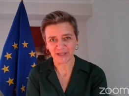 Vestager: democracy needs to catch up with technology but remain as leading force