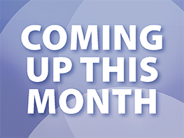 Coming up this month - March