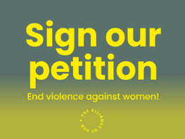 Join the call against gender-based violence!