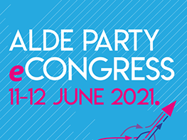 INVITE - ALDE Party virtual Congress to take place on 11-12 June