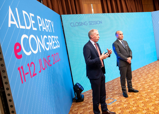 Liberal leaders join in for ALDE Party eCongress