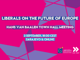 Join us for our first town hall on the future of Europe