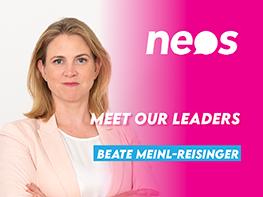 Meet our leaders: Beate Meinl-Reisinger (NEOS, Austria)