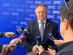 Počivalšek elected SMC's new leader