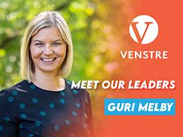 Meet our Leaders: Guri Melby (Venstre, Norway)