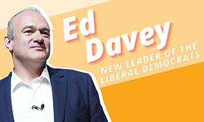 Sir Ed Davey elected new UK Liberal Democrat leader