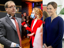 Lithuanian liberals more than double their seats in parliament