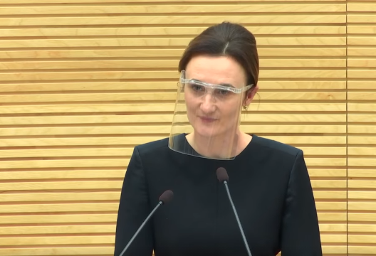 EWA alumna becomes Speaker of Parliament in Lithuania