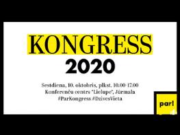 Attīstībai/Par! holds congress ahead of 2021 municipal elections
