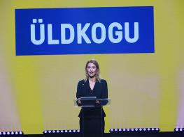 Kaja Kallas re-elected leader of Reform Party in Estonia