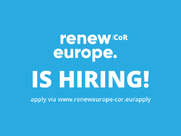 Renew Europe CoR is looking for an experienced office manager