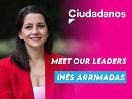 Meet our Leaders: Inés Arrimadas (Ciudadanos, Spain)
