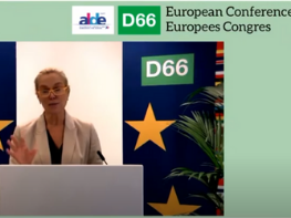 D66 holds European Conference to discuss the ongoing crisis