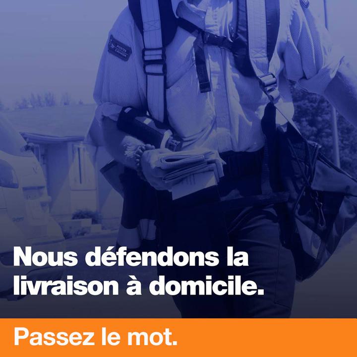 Je salue la position de la ville de Montréal dans le dossier Postes Canada