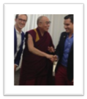 Alex and Dalai Lama
