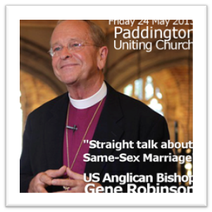 Gay Bishop welcomed to Parliament