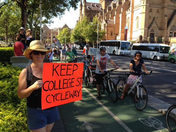 College st cycleway