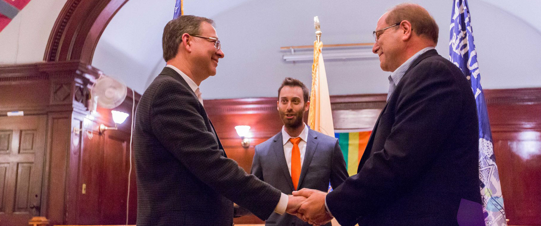 Officiating Over One of the First Same-Sex Marriages in New Jersey