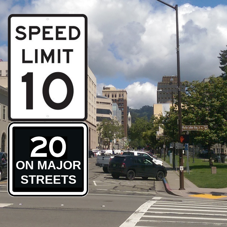 10-20mph speed limits