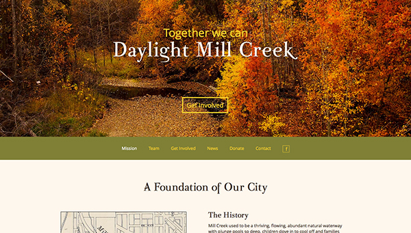 Daylight Mill Creek