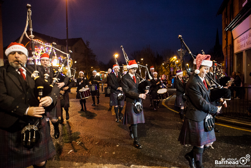 Barrhead Christmas Lights Switch On