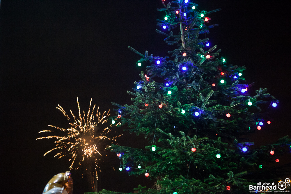 Big Barrhead Christmas Lights Switch On