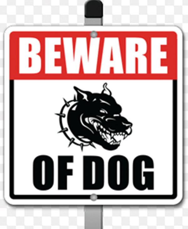 Clever Beware Of Dog Signs Take A Good Natured Jab At Home