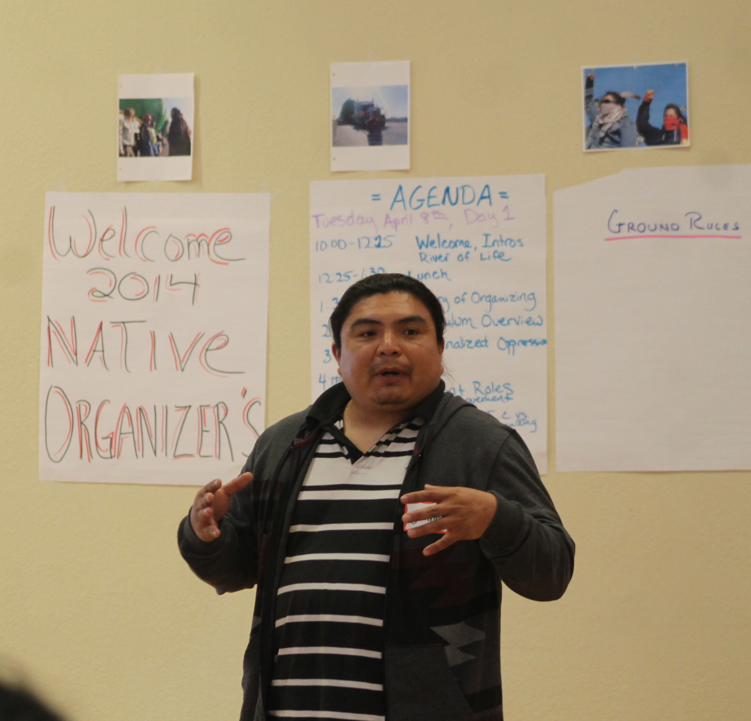 Native Organizer Training 2014