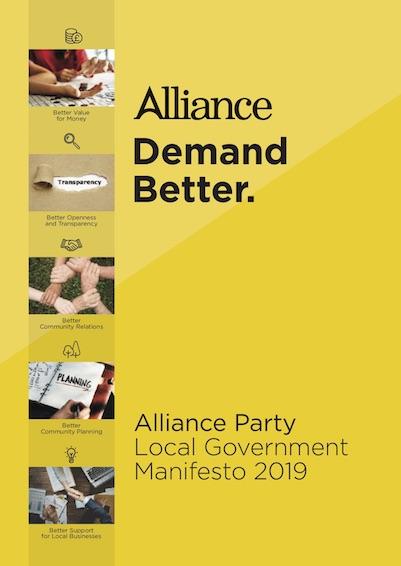 2019 Local Government Manifesto manifesto cover