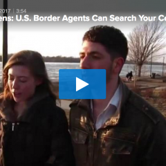 American Citizens: U.S. Border Agents Can Search Your Cellphone