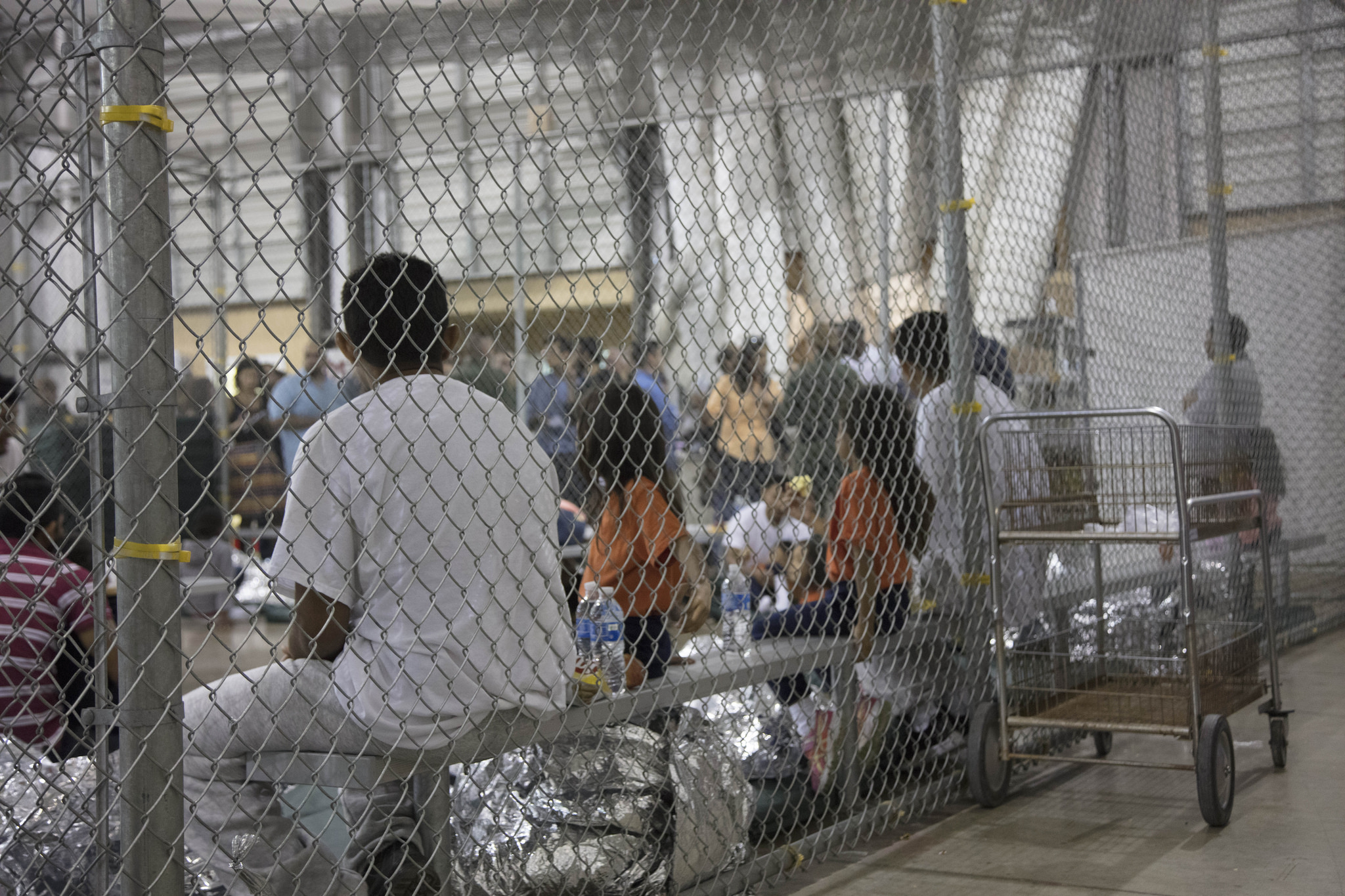 Trump Signs Order to Lock Up Children and Babies with
