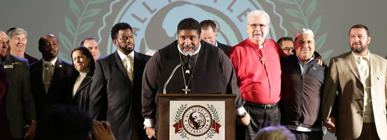 Rev. Barber at the 2017 All Peoples Celebration in San Diego