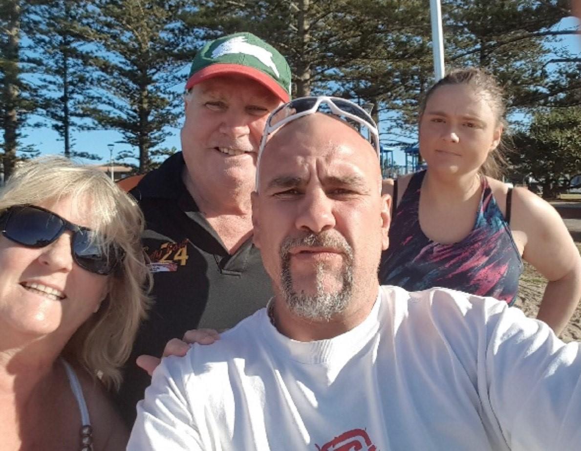 L-R: Jenny Johnstone, George Johnstone, Dwayne Johnstone and Kirsty Pepper
