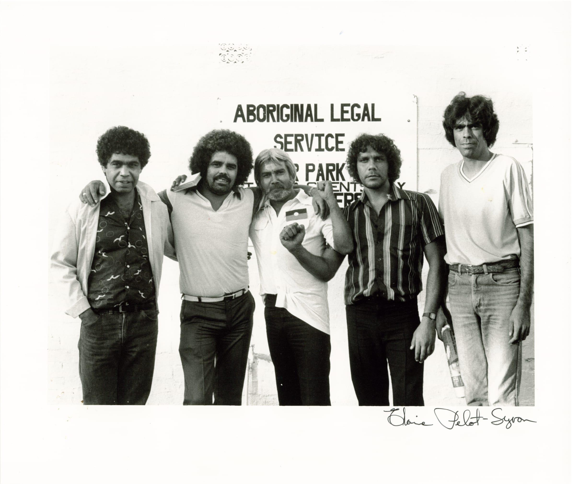 Arnold Williams, Lyall Munro Jr, Cecil Patten, Kenny Weldon and Dan Munro.