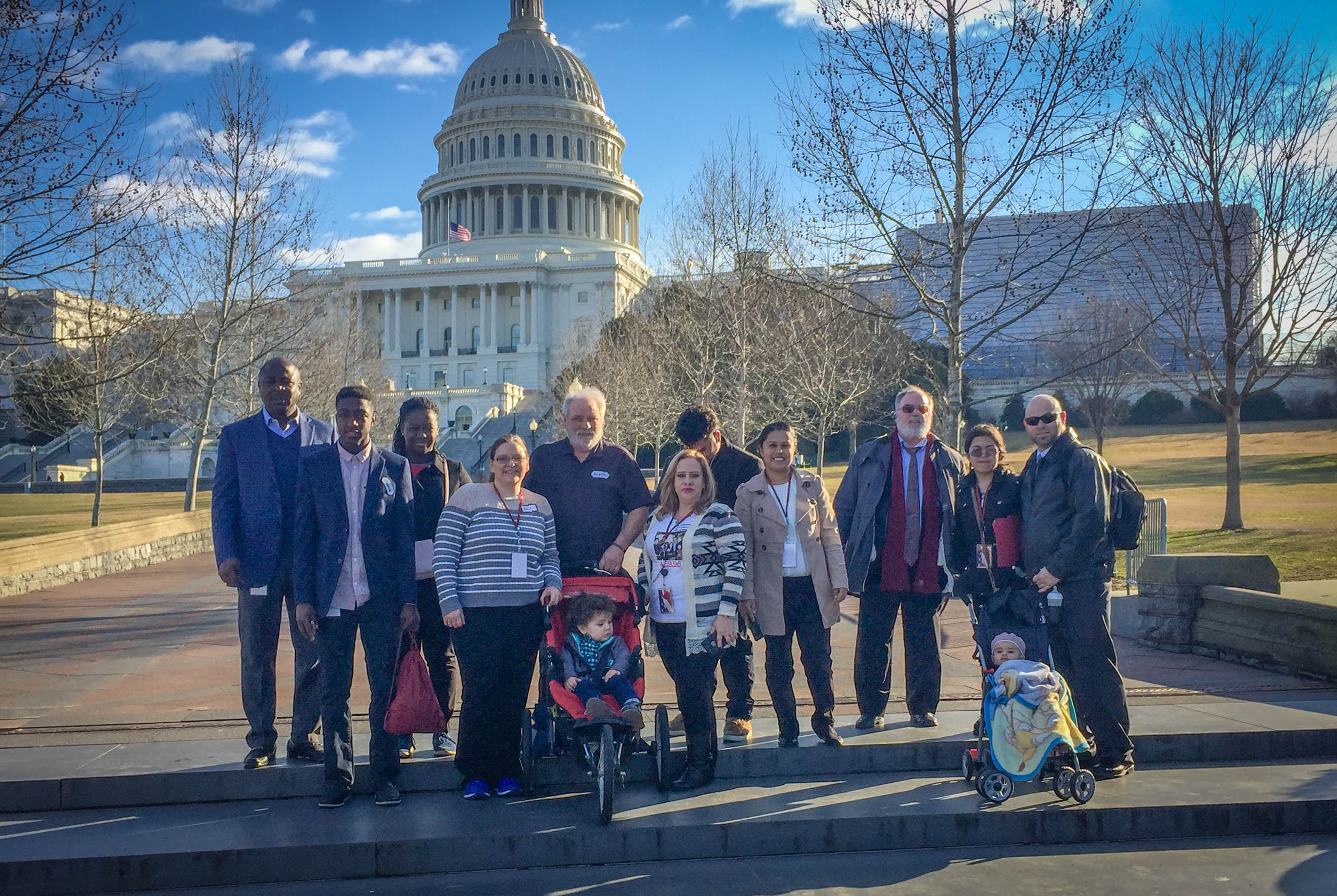 Our group on Capital Hill