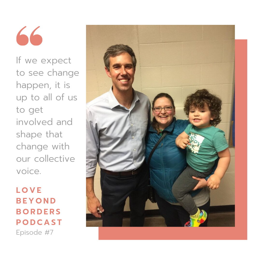Kalli Meets Beto to discuss Immigration reform