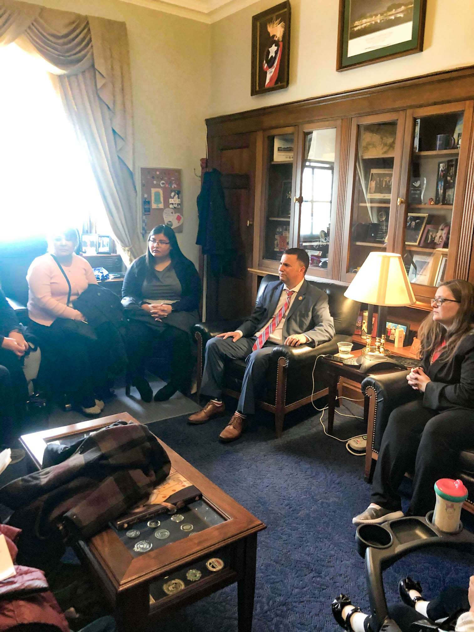 Meeting with Congressman Darren Soto's office