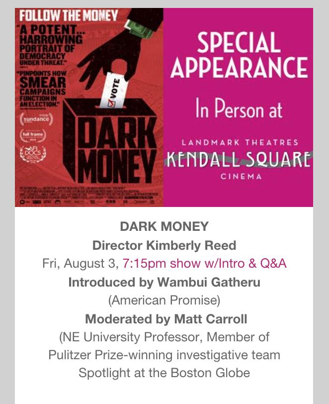 Dark Money Poster