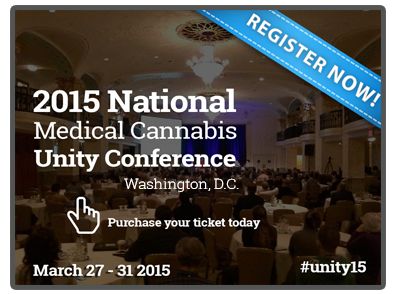 Register today for the National Medical Cannabis Unity Conference!